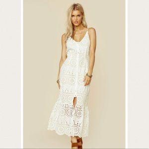 NWT Winston white sausalito midi eyelet dress